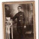 Militaria: FOTOGRAFIA SOLDADO ALFONSINO REGIMIENTO CAZADORES Nº 4. Lote 27097934