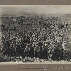 Militaria: L'AISNE (FRANCIA). TROPAS Y UN CONVOY DURANTE UN ALTO.. Lote 27300996