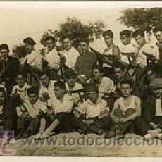 Militaria: MILITARES GUERRA CIVIL.- SIMANCAS (VALLADOLID).- 1936 BATALLÓN DE VOLUNTARIOS EN UN ....... Lote 27420783