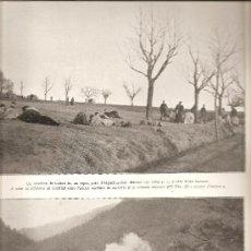 Militaria: 406. 16 DE ENERO DE 1916: LA GUERRA EN ALSACIA. Lote 27425613