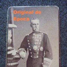Militaria: (JX-535)FOTOGRAFIA SIGLO XIX CORONEL DE LA GUARDIA CIVIL. Lote 27644372