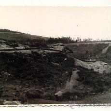 Militaria: VISTA DEL CINTURON DE HIERRO EN LOS ALREDEDORES DE BILBAO. PAIS VASCO. FOTO DAVAL. 1938. Lote 27646974