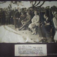 Militaria: FOTOGRAFÍA ALFONSO XIII , CON SU FAMILIA Y MINISTROS. . Lote 27749453