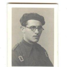 Militaria: RETRATO, FOTOGRAFIA DE ESTUDIO DE UN VOLUNTARIO DE LA DIVISION AZUL, 250 DIVISION, CIRCA 1941.. Lote 27765403