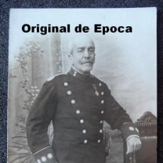 Militaria: (JX-652)FOTOGRAFIA DE CORONEL DE LA GUARDIA CIVIL EPOCA ALFONSINA. Lote 27850948