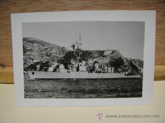DESTRUCTOR MARQUES DE LA ENSENADA D-43 (Militar - Fotografía Militar - Otros)