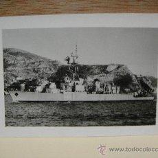 Militaria: DESTRUCTOR MARQUES DE LA ENSENADA D-43. Lote 28238776