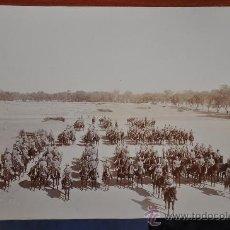 Militaria: BATTERY R F A FOTOGRAFIA ORIGINAL DE 1 GUERRA MUNDIAL WWI INDIA FIRMADA MILITAR. Lote 28352383