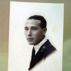 Militaria: FOTOGRAFIA, FOTO POSTAL, MILITAR, RETRATO, 1924, ESTUDIO J. CALATAYUD, CEUTA-TETUAN. Lote 28642808
