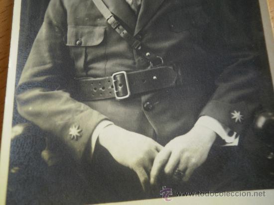 Militaria: Fotografía comandante del ejército español. 1921 - Foto 2 - 28636257