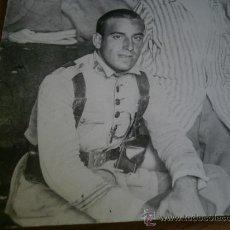 Militaria: FOTOGRAFÍA SARGENTO DEL EJÉRCITO ESPAÑOL. REGIMIENTO INFANTERÍA 73 BADAJOZ 1925. Lote 28661294