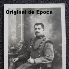 Militaria: (JX-871)FOTOGRAFIA DE SOLDADO DE ARTILLERIA PRINCIPIOS SIGLO XIX. Lote 28964815