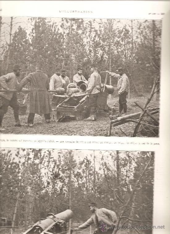 168. I GUERRA MUNDIAL: ARTILLERIA: MORTERO DE 220 (Militar - Fotografía Militar - I Guerra Mundial)