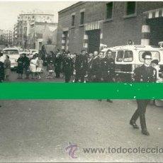 Militaria: FOTOGRAFÍA DE UN DESFILE DE FALANGE EN BARCELONA. AÑOS 40. EX-COMBATIENTES DE LA DIVISIÓN AZUL. . Lote 28987725