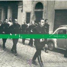 Militaria: FOTOGRAFÍA DE UN DESFILE DE FALANGE EN BARCELONA. AÑOS 40. EX-COMBATIENTES DE LA DIVISIÓN AZUL. . Lote 28987761