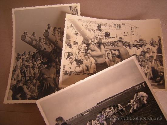 3 FOTOS ,MARINA ALEMANA SEGUNDA GUERRA MUNDIAL ORIGINAL (Militar - Fotografía Militar - II Guerra Mundial)