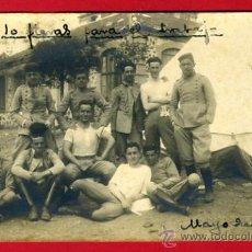 Militaria: FOTOGRAFIA FOTO MILITAR, ORIGINAL , MILITARES TOLEDO ,1922 FOTO RODRIGUEZ , A21. Lote 29163228