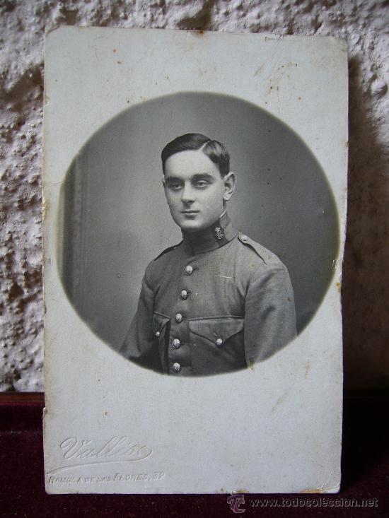 FOTOGRAFÍA ORIGINAL DE UN GUARDIA CIVIL AÑO 1917 (Militar - Fotografía Militar - Otros)