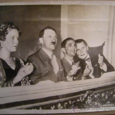 Militaria: FOTO HISTÓRICA HITLER GOEBELS GÖRING 1939 ,EN CONCIERTO BENEFICO. Lote 29043699