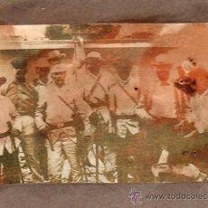 Militaria: FOTOGRAFIA. CUBA, SPANISH AMÉRICAN WAR. COMANDANTE JUAN RÍUS Y OTROS. VER FOTO ADJUNTA. Lote 29415743