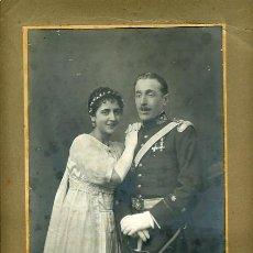 Militaria: FOTOGRAFIA MILITAR, CON CONDECORACIONES , GRANDE , FOTO 1917,ORIGINAL , D33. Lote 29441380