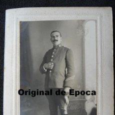 Militaria: (JX-939)FOTOGRAFIA DE SARGENTO DE CABALLERIA REG.Nº17 REALIDA POR P.CATALA DE VALLS(TARRAGONA). Lote 29561287