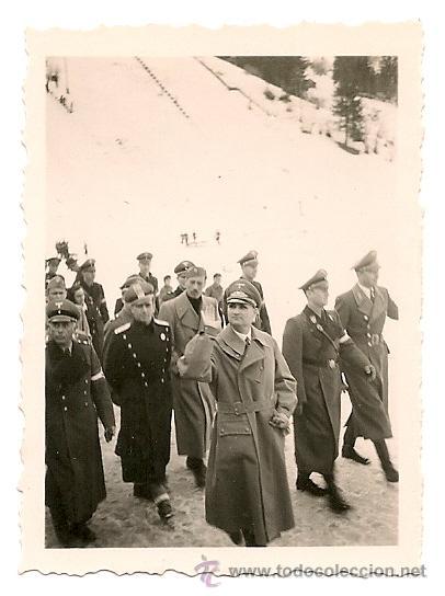 FOTOGRAFIA DE RUDOLF HESS EN EL INVIERNO DE 1939.¡¡¡ORIGINAL!!! (Militar - Fotografía Militar - II Guerra Mundial)