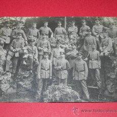 Militaria: FOTO POSTAL SODADOS ALEMANES I GUERRA MUNDIAL. Lote 29890442