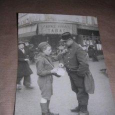 Militaria: ANTIGUA FOTOGRAFIA MILITAR 1915,DE CHAUSSEAU FLAVIENS PARIS Nº1723, 16X11,5 CM. FOTO DE EPOCA,. Lote 30084854