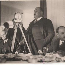 Militaria: 8 FOTOGRAFÍAS INÉDITAS DE INDALECIO PRIETO VISITANDO EL PANTANO DEL CHORRO ( 31/1/1932). MÁLAGA. Lote 30167249