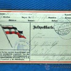Militaria: POSTAL CORREO MILITAR ALEMÁN - FECHADA 1915 - 8ª DIVISIÓN EJÉRCITO IMPERIAL - PRIMERA GUERRA MUNDIAL. Lote 33301833