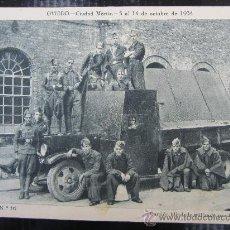 Militaria: OVIEDO , CIUDAD MARTIR ,5 AL14 OCTUBRE 1934, CAMION BLINDADO UTILIZADO POR LOS REBELDES , ASTURIAS. Lote 30654504
