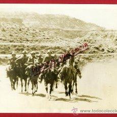 Militaria: FOTO GUERRA CIVIL, FRENTE CATALAN 28 ENERO 1939, ORIGINAL , VER FOTO CABALLERIA , F1. Lote 31145019