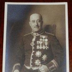 Militaria: ANTIGUA FOTOGRAFIA DE MILITAR ESPAÑOL CON MUCHISIMAS CONDECORACIONES, MIDE 15,7 X 10 CMS.. Lote 31360324