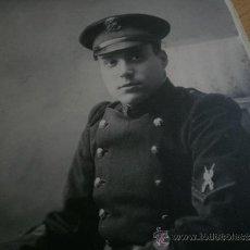 Militaria: FOTOGRAFÍA SOLDADO INFANTERÍA DE MARINA. TIRADOR SELECTO ALFONSO XIII. Lote 31630520