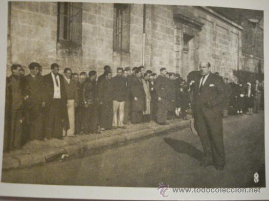 A IDENTIFICAR - PARECE DIRECTOR DE CARCEL - GUERRA CIVIL ESPAÑA - LEER DESCRIPCION (Militar - Fotografía Militar - Guerra Civil Española)