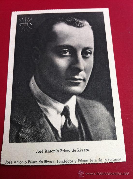 FOTO POSTAL JOSE ANTONIO (Militar - Fotografía Militar - Guerra Civil Española)