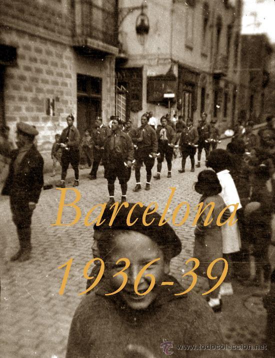 Militaria: GUERRA CIVIL - BARCELONA - LES CORTS - 5 NEGATIVOS - Foto 2 - 31700017