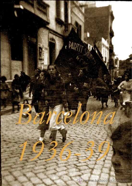Militaria: GUERRA CIVIL - BARCELONA - LES CORTS - 5 NEGATIVOS - Foto 4 - 31700017