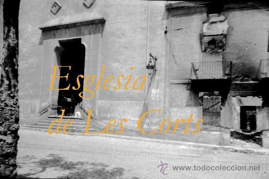 Militaria: GUERRA CIVIL - BARCELONA - LES CORTS - 5 NEGATIVOS - Foto 5 - 31700017