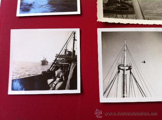 Militaria: 13 Fotos tropas alemanas en transporte maritimo - Foto 5 - 31704666
