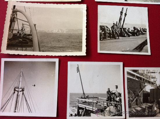 Militaria: 13 Fotos tropas alemanas en transporte maritimo - Foto 6 - 31704666