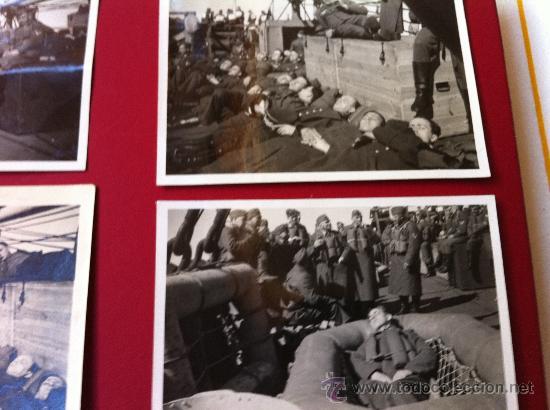 Militaria: 13 Fotos tropas alemanas en transporte maritimo - Foto 2 - 31704666