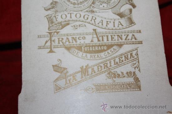 Militaria: FOTOGRFIA DEL GENERALISIMO FRANCISCO FRANCO DE LA INFANCIA, INEDITA - Foto 7 - 31727525