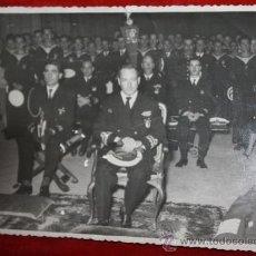 Militaria: CUMPLIMIENTO PASCUAL DEL CRUCERO ALMIRANTE CERVERA 1954.17,5X11,5. Lote 31727086