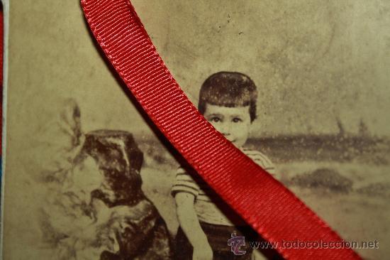FOTOGRFIA DEL GENERALISIMO FRANCISCO FRANCO DE LA INFANCIA, INEDITA (Militar - Fotografía Militar - Otros)