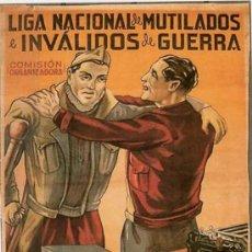 Militaria: CARTEL MILITAR DE LA GUERRA CIVIL . Lote 31750712