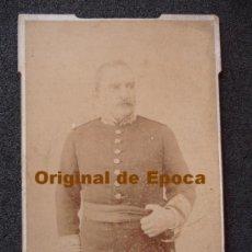 Militaria: (JX-159)FOTOGRAFIA DE GENERAL SIGLO XIX. Lote 31752265