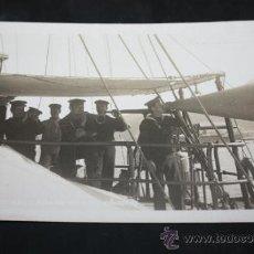Militaria: FOTOGRAFIA DE LAS MANIOBRAS DE LA MARINA DE GUERRA ESPAÑOLA EN CARTAGENA 1928. Lote 31947796