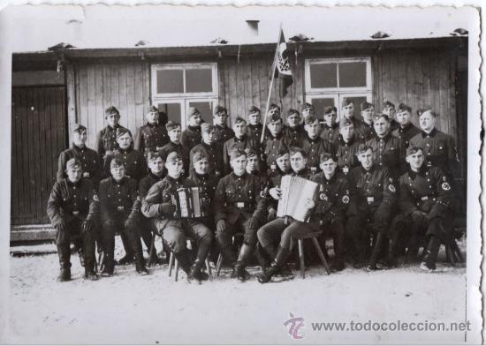SOLDADOS DE LA RAD - FOTOGRAFIA ORIGINAL DE LA SEGUNDA GUERRA MUNDIAL (Militar - Fotografía Militar - II Guerra Mundial)